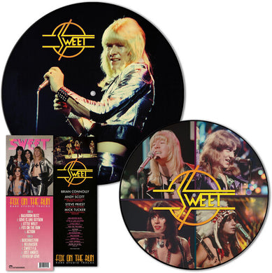 Sweet - Fox On The Run - Rare Studio Tracks - Picture Disc