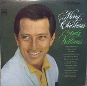 Andy Williams - Merry Christmas - Pre-owned Vinyl - Covert Vinyl