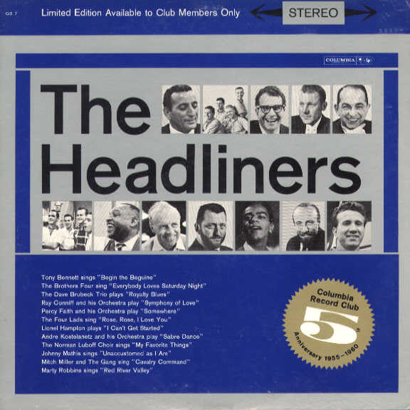 Various Artist - The Headliners 5th Anniversary - Pre-owned Vinyl