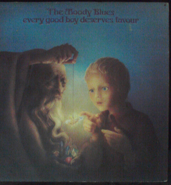 Moody Blues, The - Every Good Boy Deserves Favour - Pre-owned Vinyl