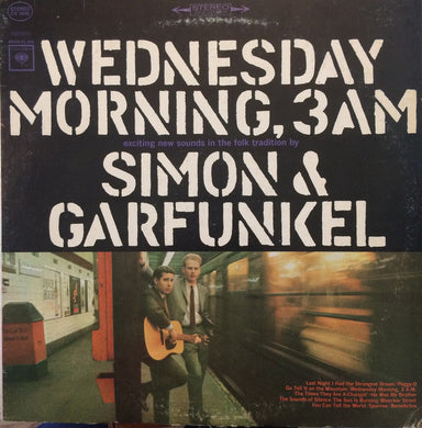 Simon & Garfunkel - Wednesday Morning, 3 AM - Pre-owned Vinyl