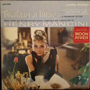 Henry Mancini - Breakfast At Tiffany's Original Soundtrack - Pre-owned Vinyl