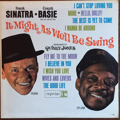 Frank Sinatra & Count Basie - It Might As Well Be Swing - Pre-owned Vinyl