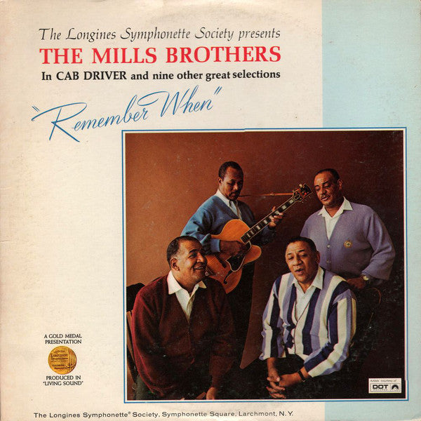 Mills Brothers, The - Remember When - Pre-owned Vinyl