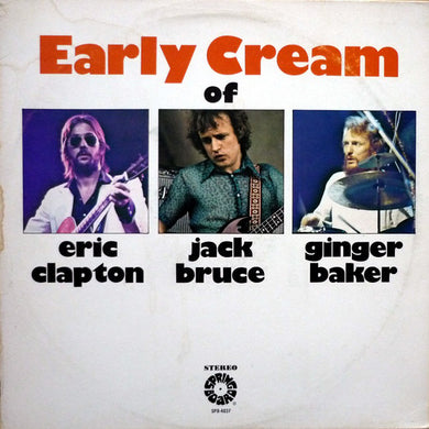 Eric Clapton, Jack Bruce & Ginger Baker - The Early Cream Of - Pre-owned Vinyl