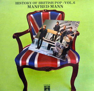 Manfred Mann - History of British Pop - Vol. 6 - Pre-owned Vinyl