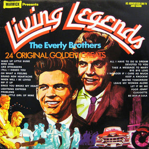 Everly Brothers, The - Living Legends: 24 Original Golden Greats - Pre-owned Vinyl
