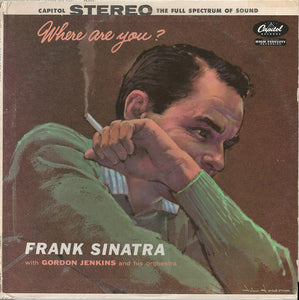 Frank Sinatra - Where Are You? -1957 Mono Pressing - Pre-owned Vinyl