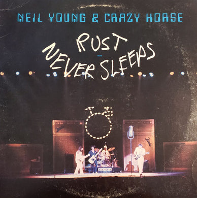 Neil Young & Crazy Horse - Rust Never Sleeps - Pre-owned Vinyl