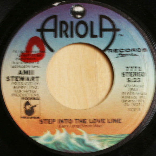Amii Stewart - Step Into The Love Line 45 RPM - Pre-owned Vinyl - Covert Vinyl