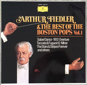 Arthur Fielder  - The Best of the Boston Pops Vol. 1 - Pre-owned Vinyl