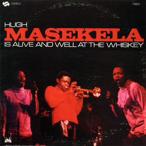 Hugh Masekela - Is Alive And Well At The Whisky - Pre-owned Vinyl