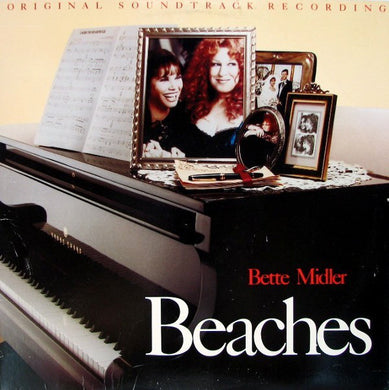 Bette Midler - Beaches - Original Soundtrack Recording - Pre-owned Vinyl