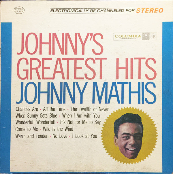 Johnny Mathis - Johnny's Greatest Hits - Pre-owned Vinyl