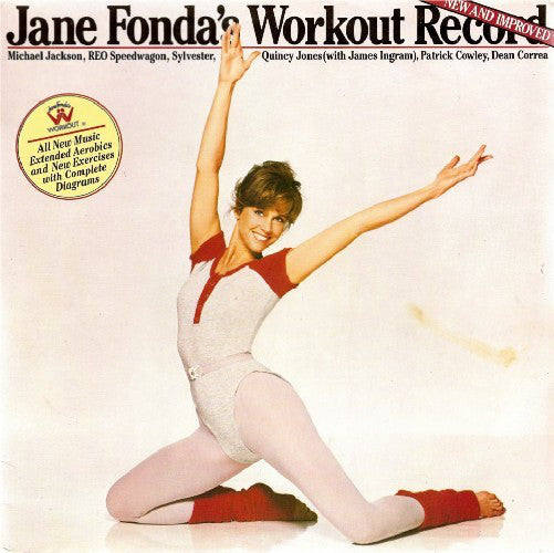 Various Artist - Jane Fonda's Workout Record New and Improved - Pre-owned Vinyl
