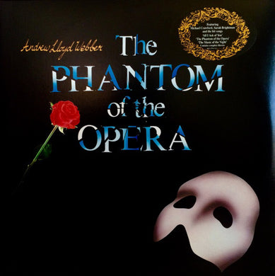 Andrew Llyod Webber - The Phantom of the Opera - Original London Cast - Pre-owned Vinyl