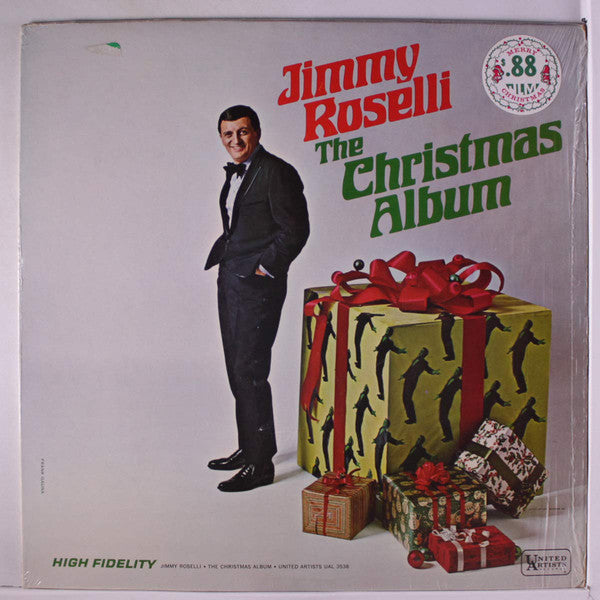 Jimmy Roselli - The Christmas Album - Pre-owned Vinyl