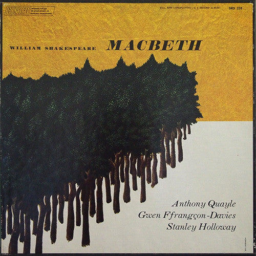 Shakespeare - Macbeth - Pre-owned Vinyl