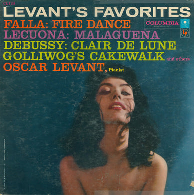 Oscar Levant - Levant's Favorites - Pre-owned Vinyl
