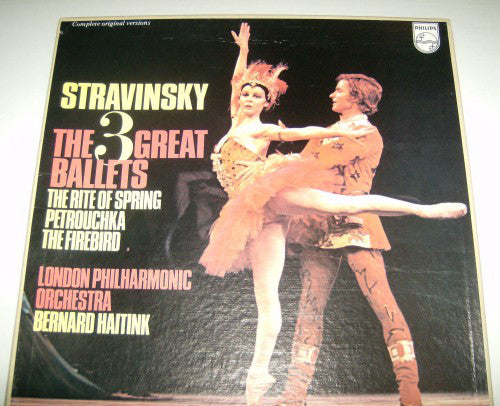 Stravinsky - The 3 Great Ballets - Pre-owned Vinyl