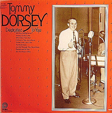 Tommy Dorsey - Dedicated To You - Pre-owned Vinyl