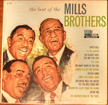 Mills Brothers, The -  Best of  Mills Brothers - Pre-owned Vinyl