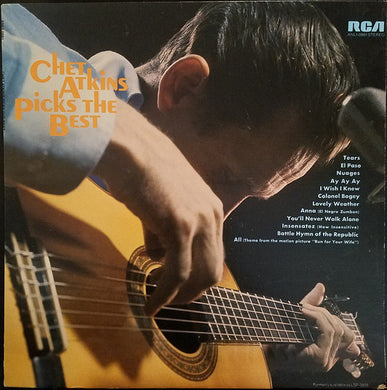 Chet Atkins - Picks The Best - Pre-owned Vinyl