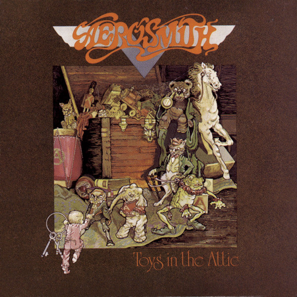 Aerosmith - Toys in the Attic - Pre-owned Vinyl - Covert Vinyl