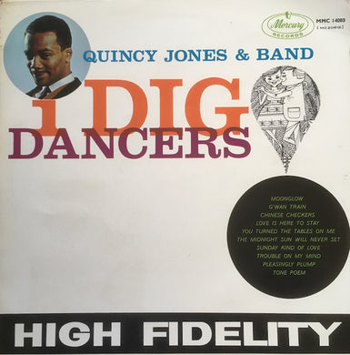 Quincy Jones & Band - I Dig Dancers - Pre-owned Vinyl