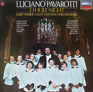 Luciano Pavarotti - O Holy Night - Pre-owned Vinyl