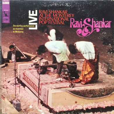 Ravi Shankar - At The Monterey International Pop Festival - Pre-owned Vinyl