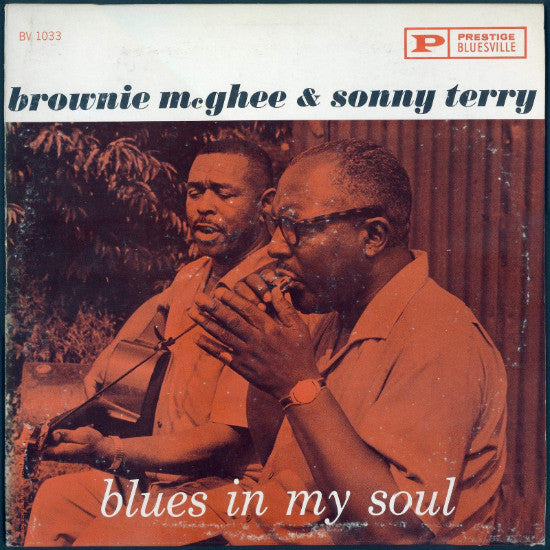 Sonny Terry & Brownie McGhee - Blues In My Soul - Pre-owned Vinyl