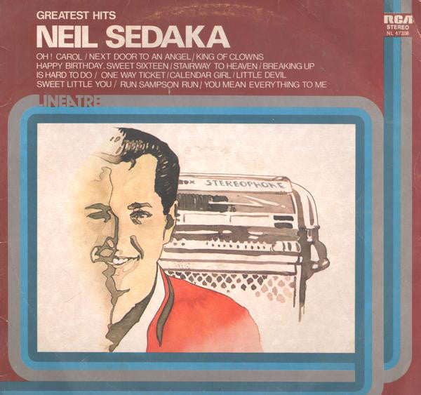 Neil Sedaka - Greatest Hits - Pre-owned Vinyl