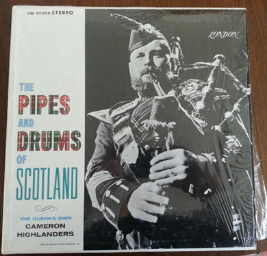Cameron Highlanders - The Pipes and Drums of Scotland - Pre-owned Vinyl
