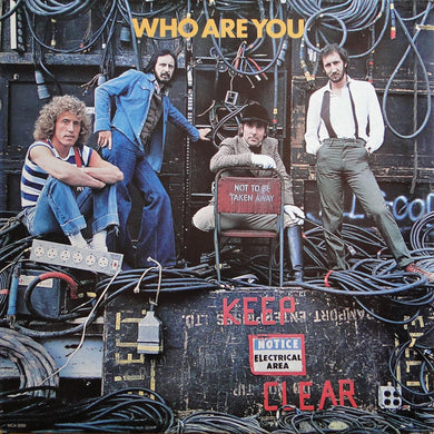 Who, The - Who Are You (1977 Pressing) - Pre-owned Vinyl