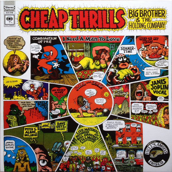 Big Brother & The Holding Company - Cheap Thrills - Pre-owned Vinyl