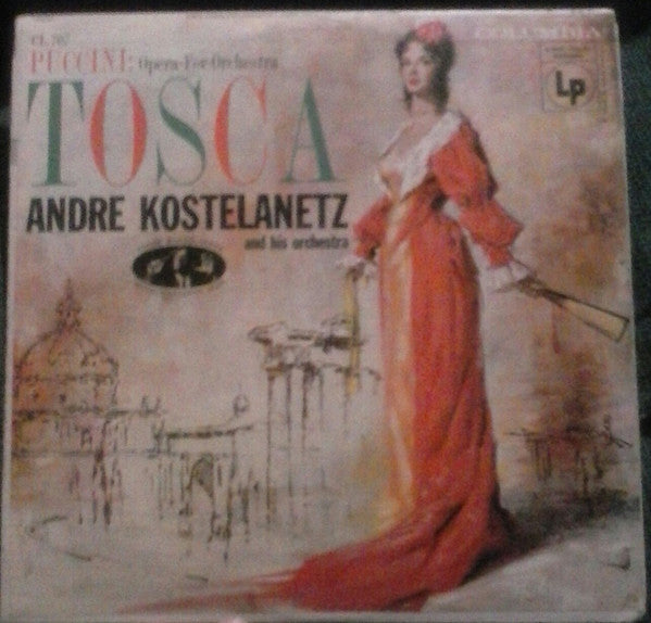 Andre Kostelanetz - Puccini Tosca - Pre-owned Vinyl