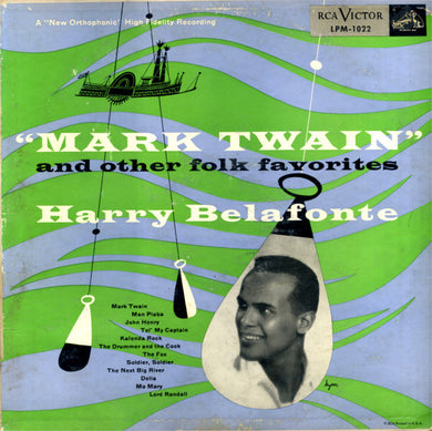 Harry Belafonte - Mark Twain and Other Folk Favorites - Pre-owned Vinyl