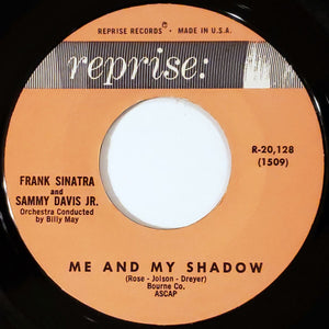 Frank Sinatra, Sammy Davis, Jr. Dean Martin - Me And My Shadow/Sam Song 45 RPM - Pre-owned Vinyl
