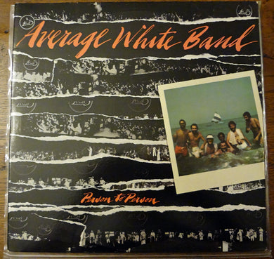 Average White Band - Person To Person - Pre-owned Vinyl