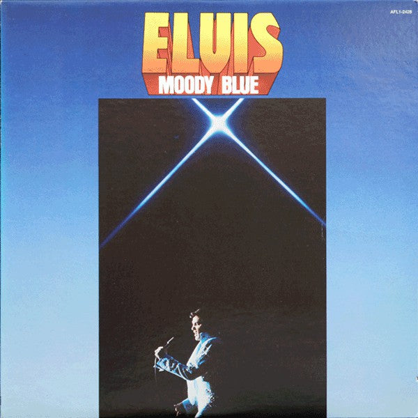 Elvis Presley - Moody Blue - Pre-owned Vinyl - Covert Vinyl
