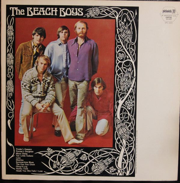 Beach Boys, The - The Beach Boys- Pre-owned Vinyl - Covert Vinyl