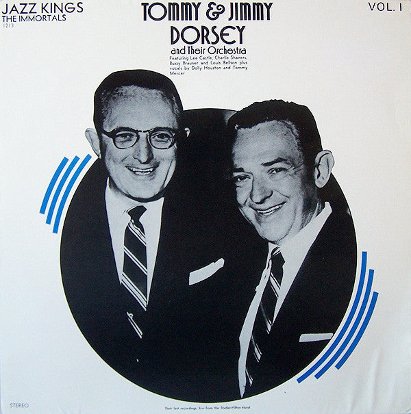 Tommy & Jimmy Dorsey - Last Moments of Greatness - Pre-owned Vinyl