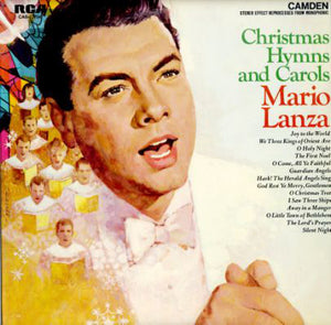 Mario Lanza - Christmas Hymns and Carols - Pre-owned Vinyl