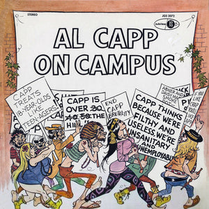 Al Capp - On Campus - Pre-owned Vinyl - Covert Vinyl