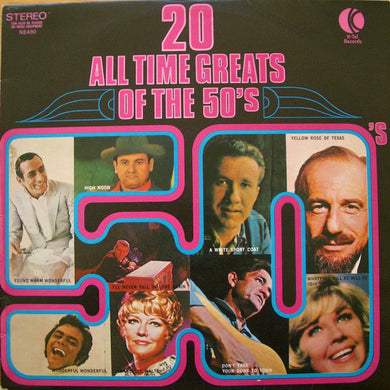 Various Artists - 20 All Time Greats Of The 50's - Pre-owned Vinyl