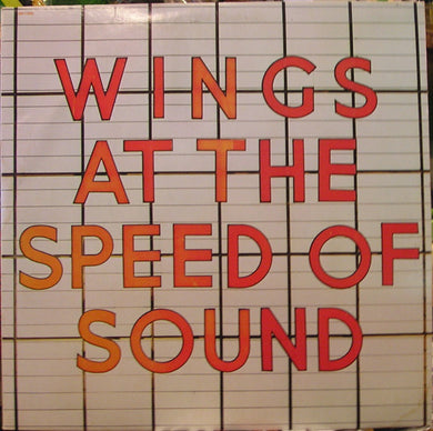 Paul McCartney & Wings - At The Speed of Sound - Pre-owned Vinyl