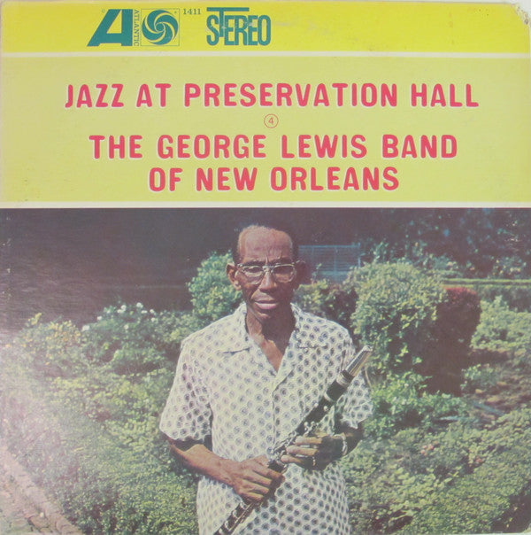 George Lewis Band of New Orleans, The - Jazz At Preservation Hall - Pre-owned Vinyl
