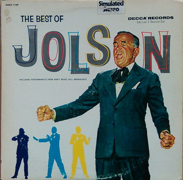 Al Jolson - The Best of Al Jolson - Pre-owned Vinyl - Covert Vinyl