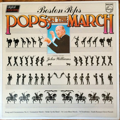 Boston Pops - Pops On The March Conducted by John Williams - Pre-owned Vinyl